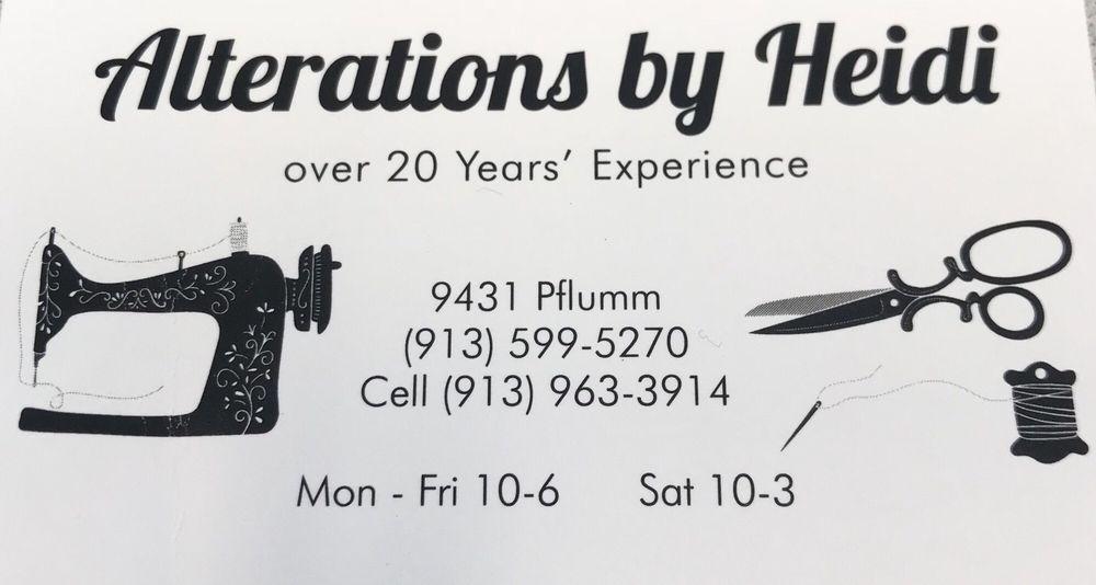 Alterations By Heidi 40 Reviews Sewing Alterations 40 Unique Missouri Sewing Machine Company Lenexa Ks