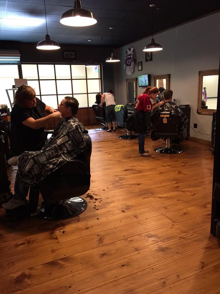 Man Cave Hair Salon Midland : The man cave hair lounge men s salons