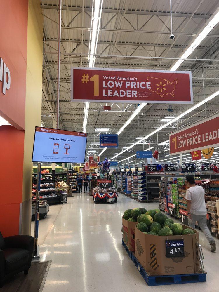 Walmart Supercenter: 1201 S 25th E, Ammon, ID