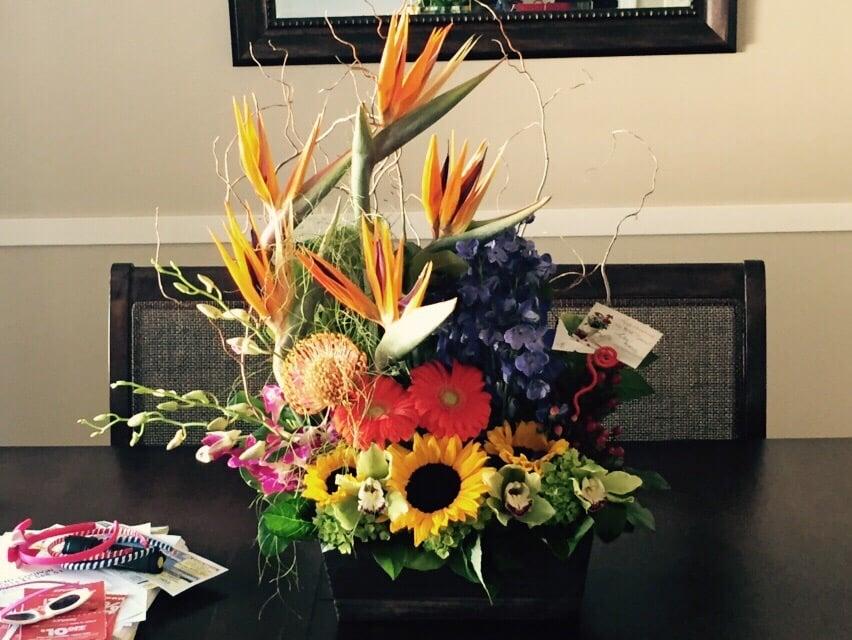 skicka blommor till usa