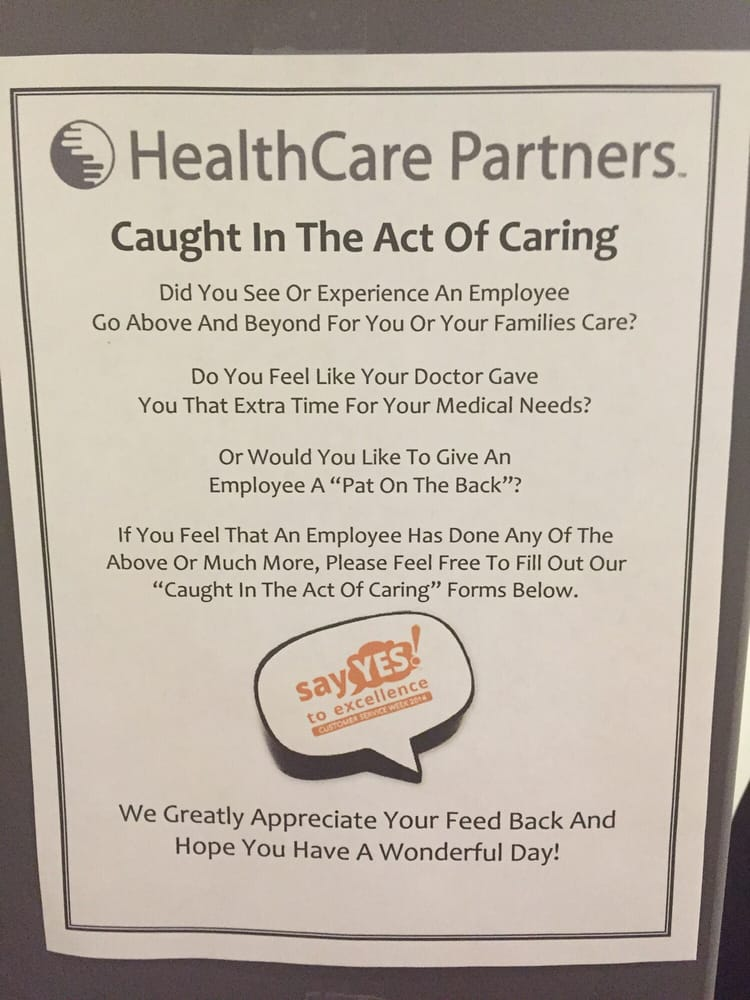 Share about the care - Yelp