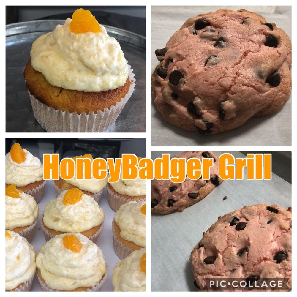HoneyBadger Grill: 10 Oakley Plz, Troy, MO