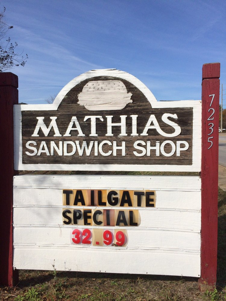 Mathias Sandwich Shop: 7235 St Andrews Rd, Columbia, SC