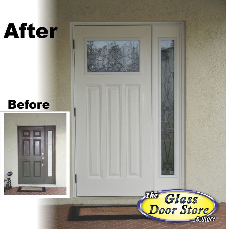 Craftsman White Door With Sidelight Yelp