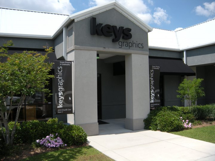 Keys Graphics: 3510 Drusilla Ln, Baton Rouge, LA