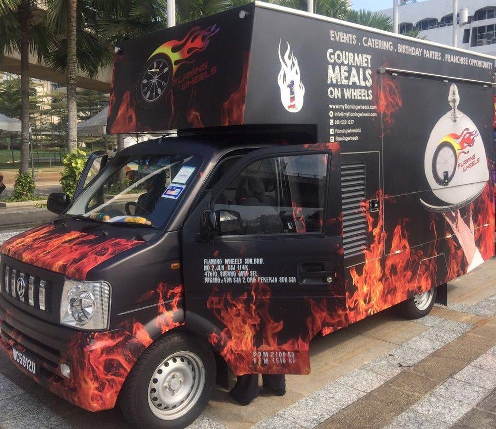 Photo of Flaming Wheels - Kuala Lumpur, Malaysia