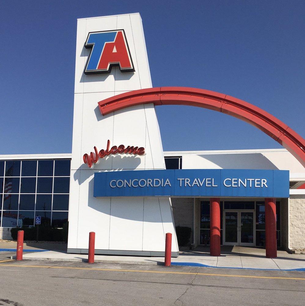 TA Concordia Travel Center: 102 NW 4th St, Concordia, MO
