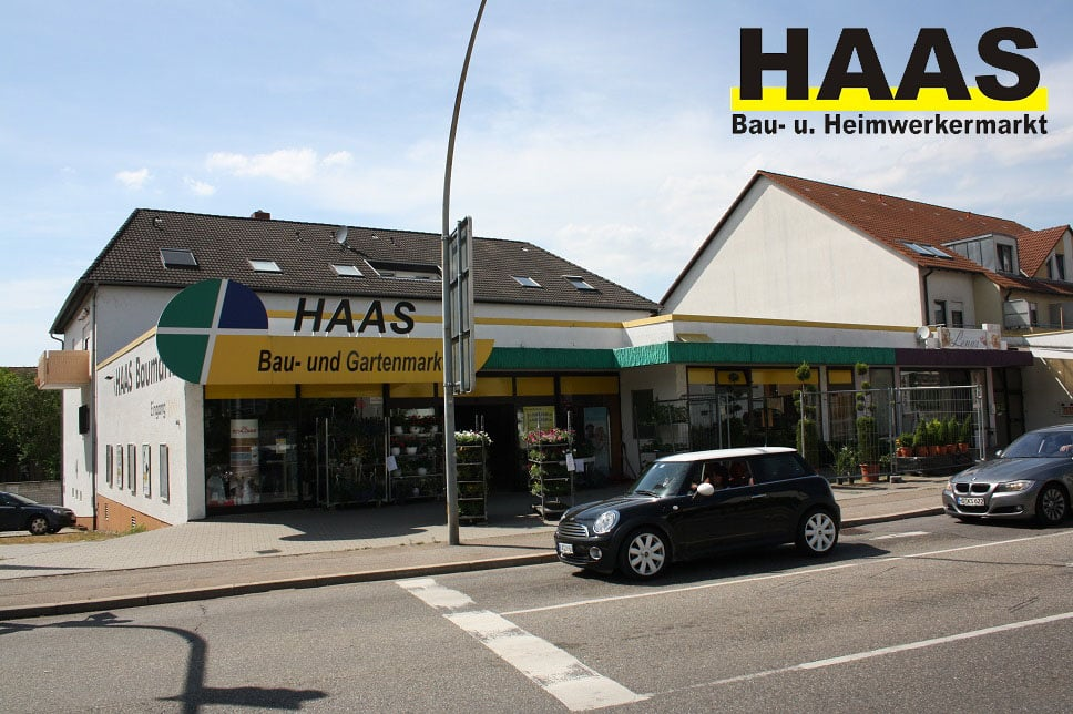 haas baumarkt hardware stores bruchsaler str 16 bad sch nborn baden w rttemberg germany. Black Bedroom Furniture Sets. Home Design Ideas