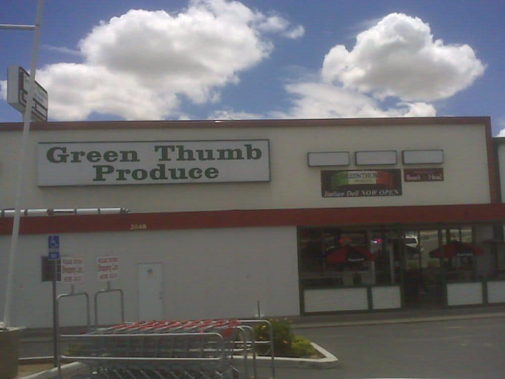 thumb produce Green