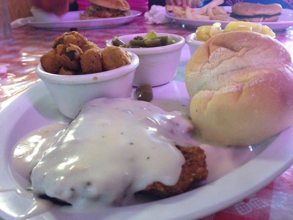 country kitchen kingston ok country fried steak this is the 4oz with e sides and a 6083