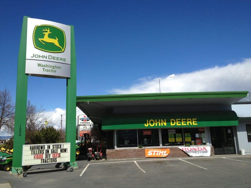 John Deere/Huppert Farm & Lawn Center   1004 S Canyon Rd, Ellensburg, WA, 98926   +1 (509) 962-6801