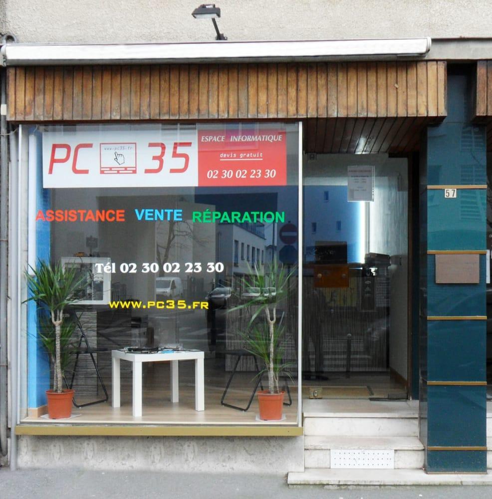 pc 35 services informatiques et r paration 57 rue st helier rennes num ro de t l phone yelp. Black Bedroom Furniture Sets. Home Design Ideas