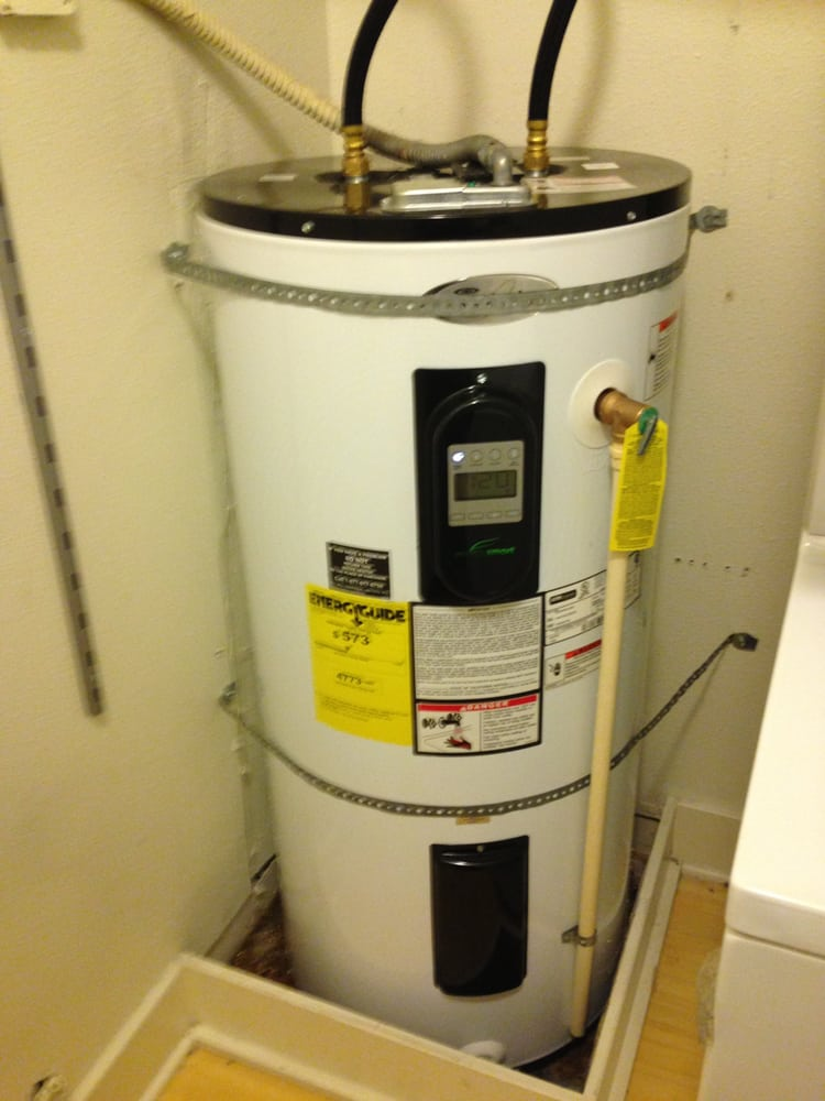 50 gallon water heater from Lowe's. - Yelp