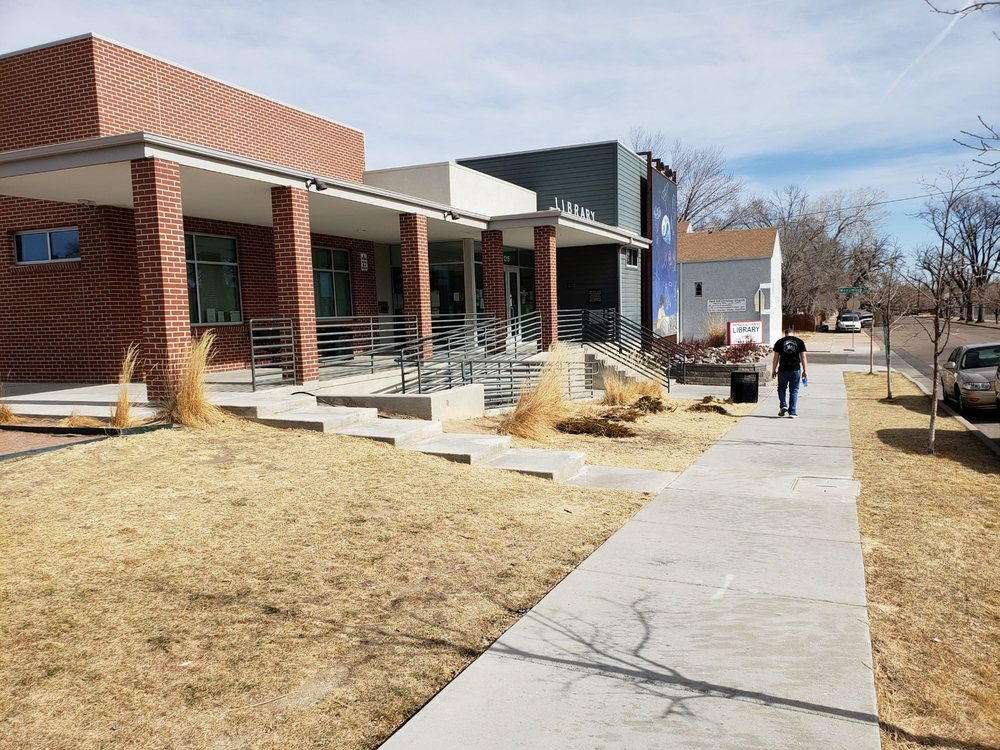 Pueblo City-County Library District - Patrick A. Lucero Branch: 1315 E 7th St, Pueblo, CO