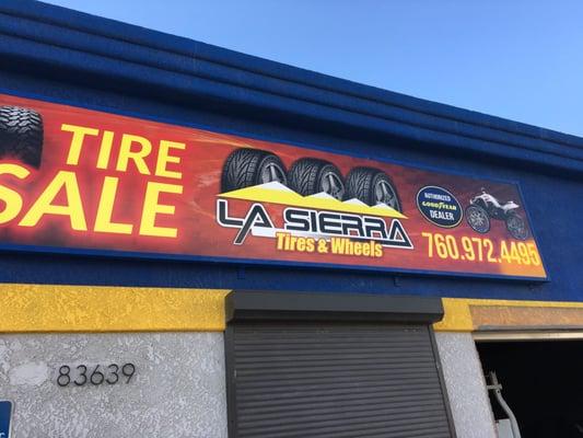 La Sierra Tires >> La Sierra Tires And Wheels 83639 Indio Blvd Indio Ca Tire Dealers