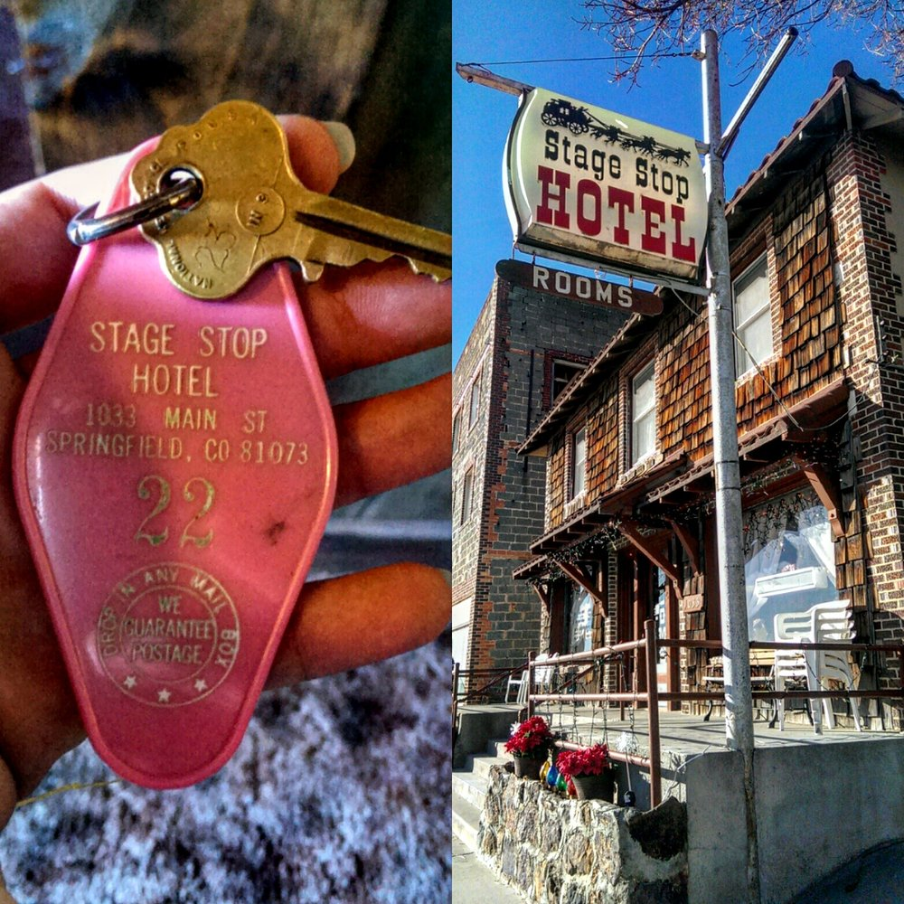 Stage Stop Hotel: 1033 Main St, Springfield, CO