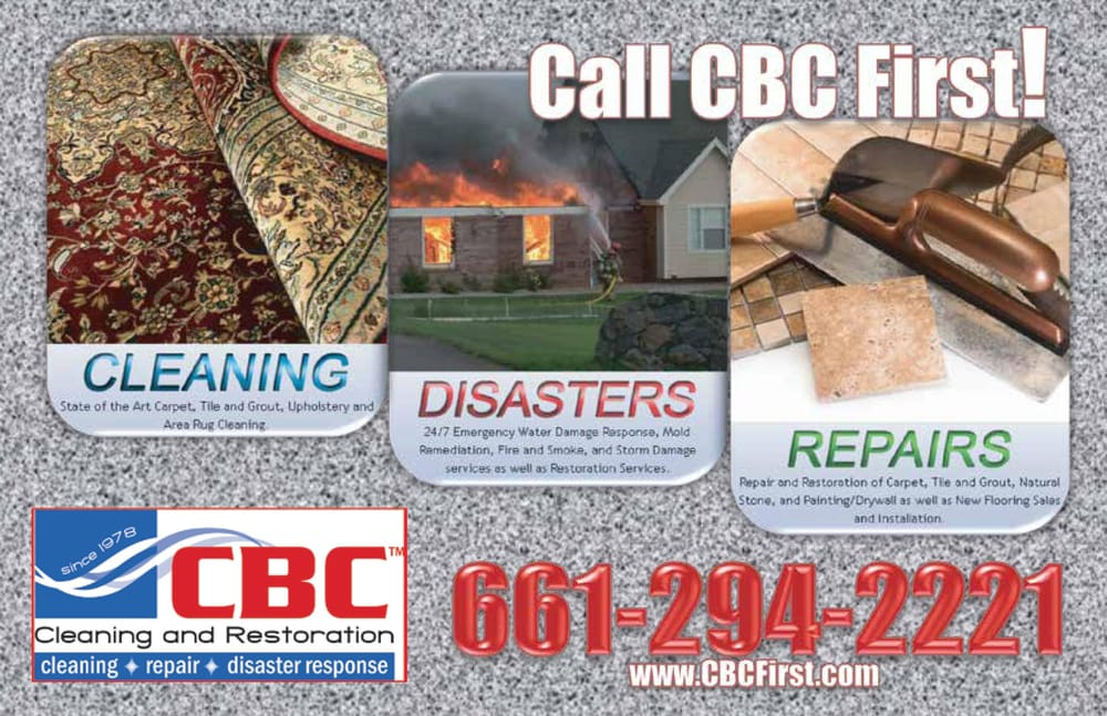 CBC Cleaning and Restoration