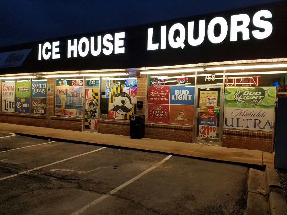Ice House Liquors: 758 West Belair Ave, Aberdeen, MD