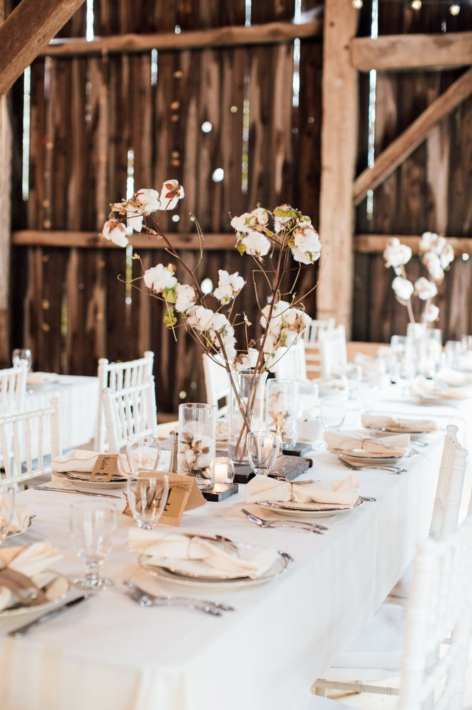 Wedding place settings, table, linen and chair rentals for family ...
