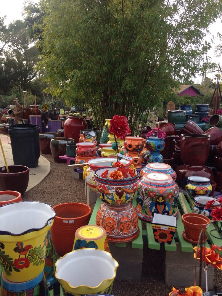 Wonderful Photo Of Harlow Gardens   Tucson, AZ, United States. Great Pots And Lawn