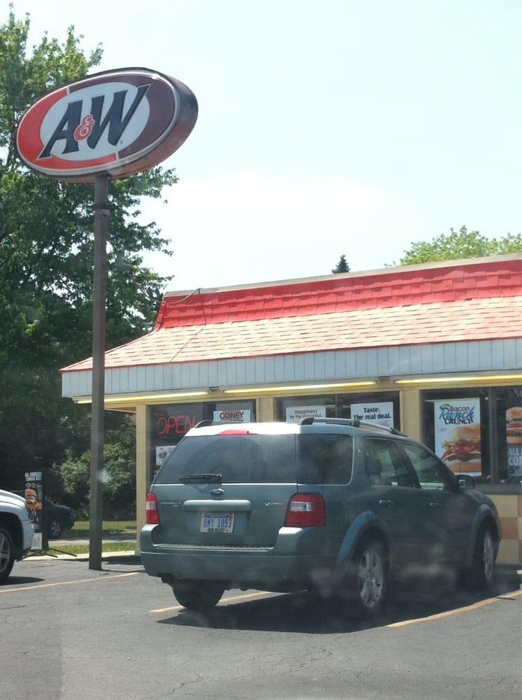 A & W Belleville: 148 W Columbia Ave, Belleville, MI