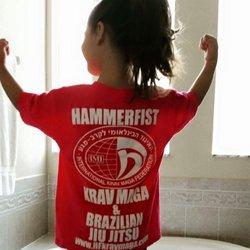 Hammerfist krav maga power/fitness drill - YouTube