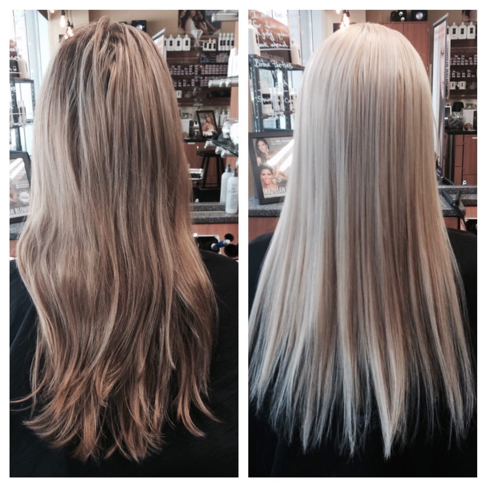 Hair Extension And A Platinum Dye Hello Spring Stylist I Uses