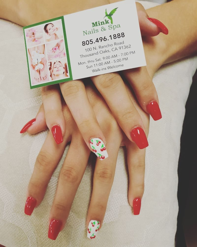 Mink Nails & Spa: 100 N Rancho Rd, Thousand Oaks, CA