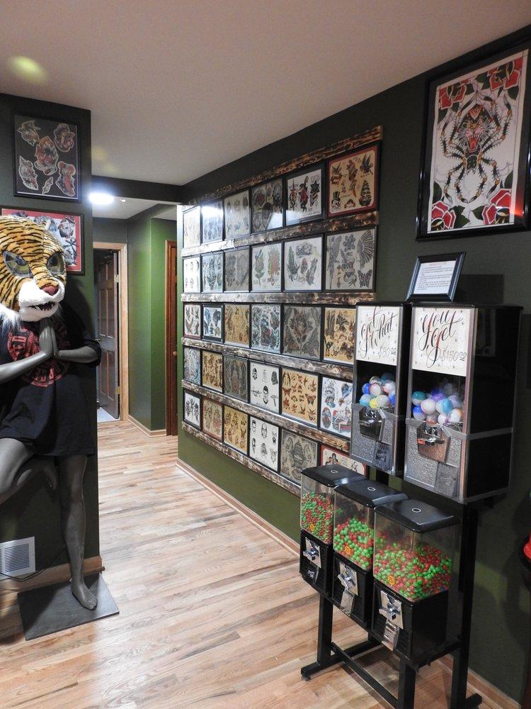 Eternal Tiger Tattoo: 18960 W Grand Ave, Lake Villa, IL