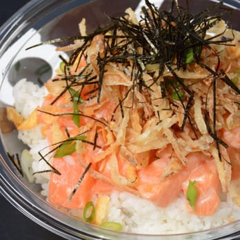 Wild poke closed 70 photos 97 reviews seafood for Go fish poke dallas