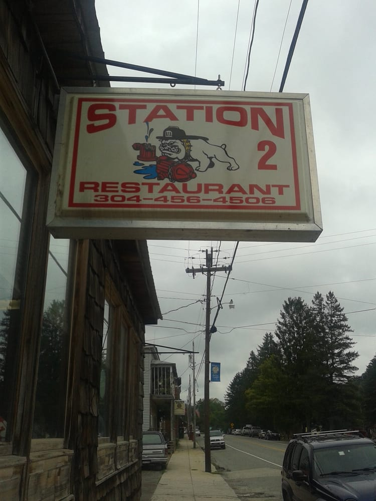 Station 2 Restaurant: Rt 250 & Main St, Durbin, WV