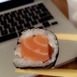 Sakura Japanese Cuisine - Astoria, NY, United States. Salmon fiend.