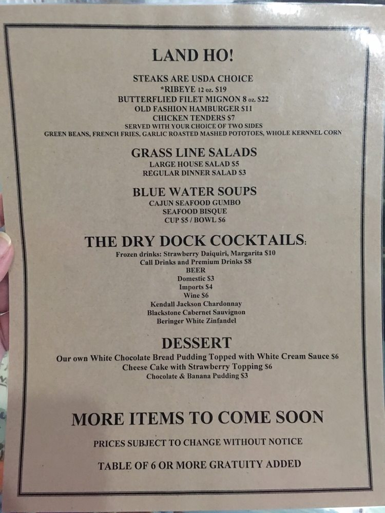 Toney's Grill Seafood Market: 710 Hwy 61 N, Vicksburg, MS