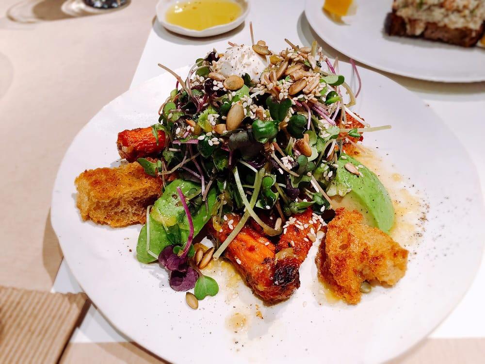Roast Carrot And Avocado Salad Yelp