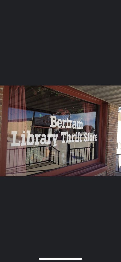 Bertram Library Thrift Store: 140 N Gabriel, Bertram, TX