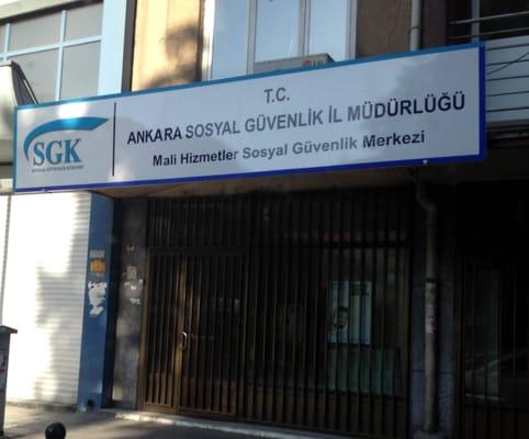 Ankara Sosyal Guvenlik Il Mudurlugu Kamu Idari Hizmetler