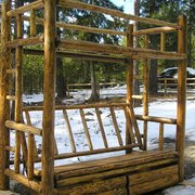 Ordinaire Log Bunk Photo Of Montana Custom Log Furniture   Troy, MT, United States.  Twin Over