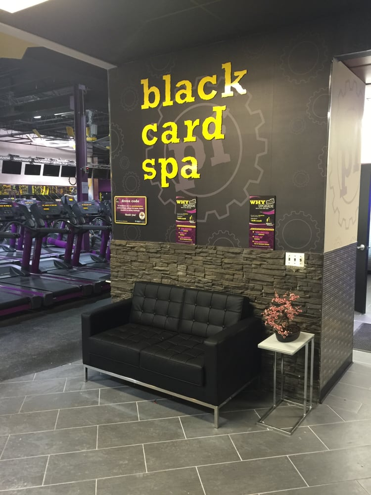 New black card spa yelp for Salon fitness