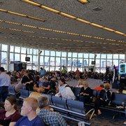 'Photo of McCarran International Airport - Las Vegas, NV, United States. See the strip through the windows of gate A' from the web at 'https://s3-media1.fl.yelpcdn.com/bphoto/LJmWAFxHFpPCGAhSha2pmg/180s.jpg'