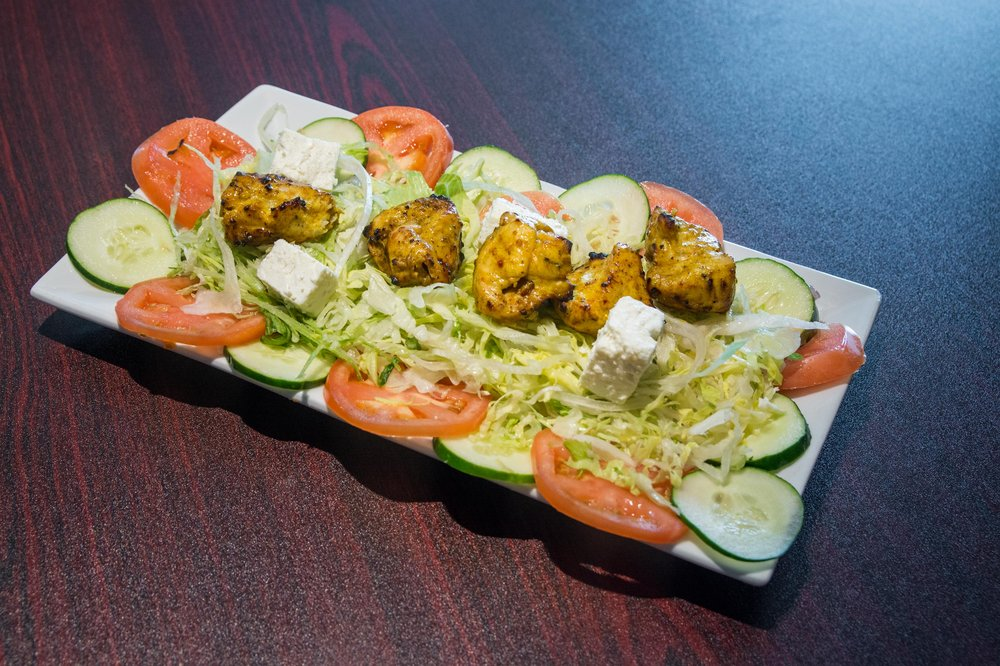 Food from Grill Kabab