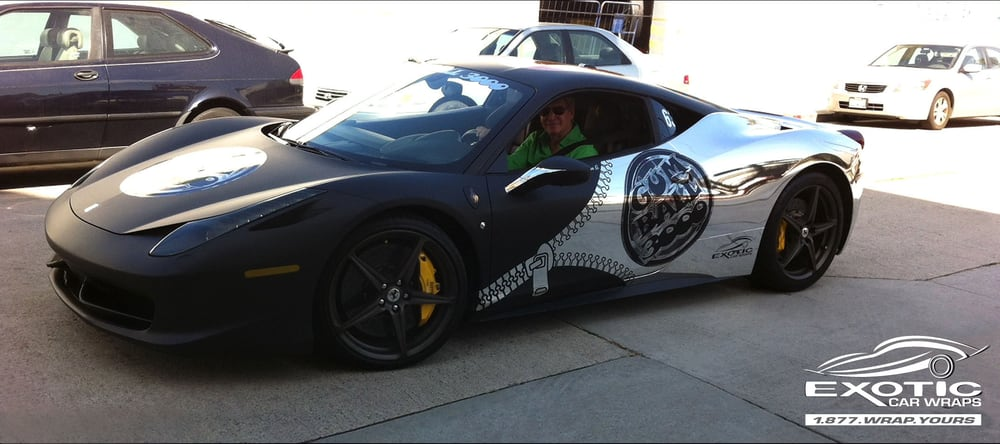 Photos For Exotic Car Wraps Yelp
