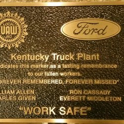 Ford Motor Co Kentucky Truck Plant Car Dealers 3001