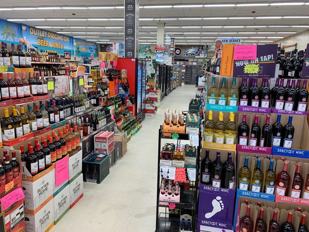 Lot's Of Liquors: 811 N Route 130, Burlington, NJ