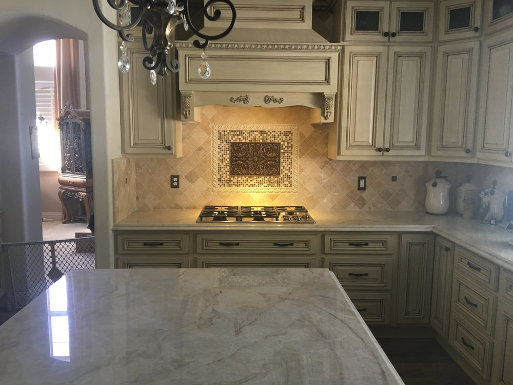 Jt Marble And Granite Did All Countertops And Backsplash Phenomenal