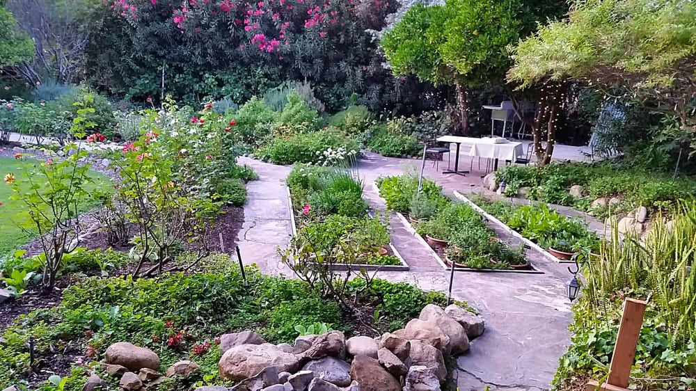 Herb garden yelp for The ranch house in ojai
