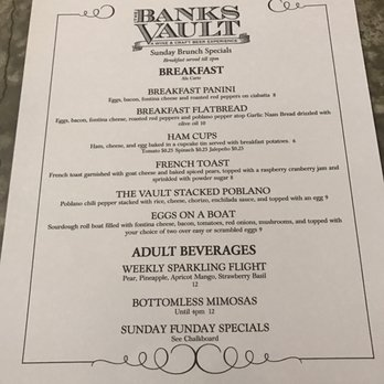 Photo Of The Banks Vault Livermore Ca United States The Breakfast Flatbread