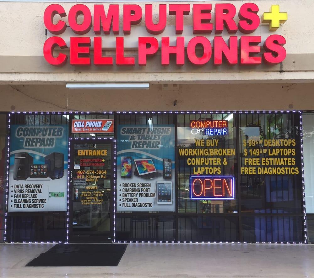 Computers Plus Cellphones