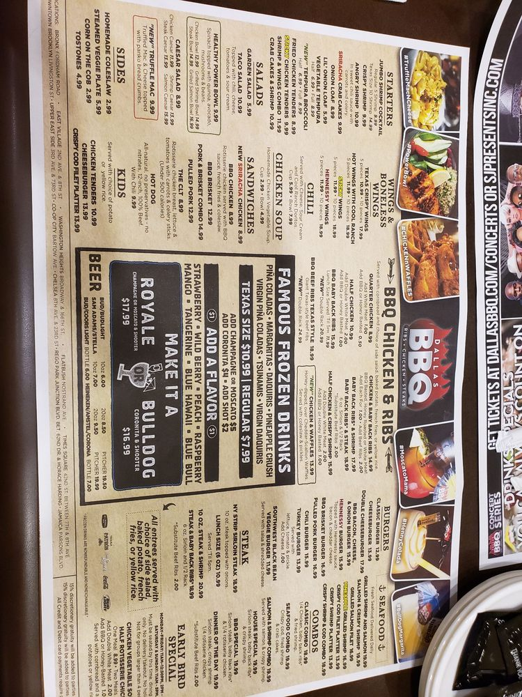 Dallas Bbq Order Food Online 675 Photos 497 Reviews Barbeque 61 35 Junction Blvd Rego Park Ny United States Phone Number Menu Yelp