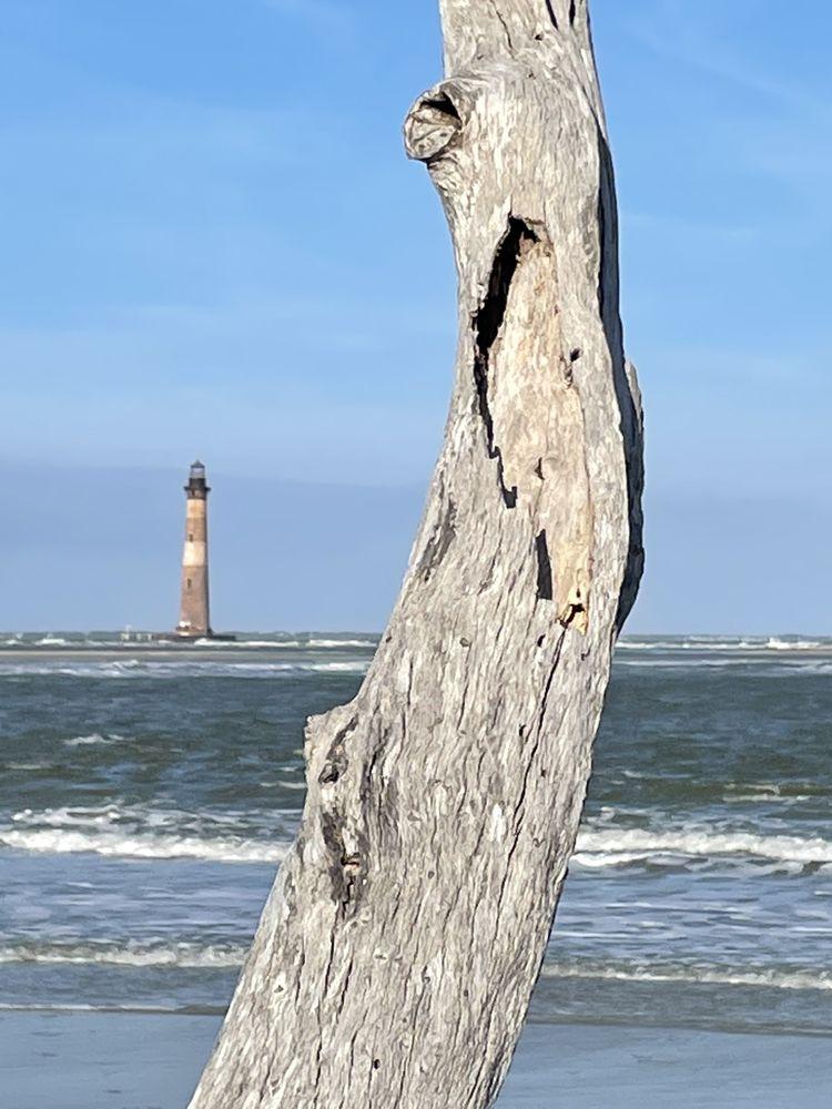 Morris Island Lighthouse: End Of East Ashley, Folly Beach, SC