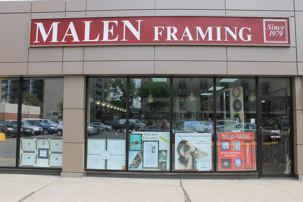 Malen Framing - Bilderrahmen - 1430 Prince of Wales Drive, Ottawa ...